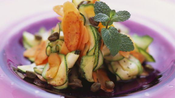 Rezept: Vegetarisches Carpaccio