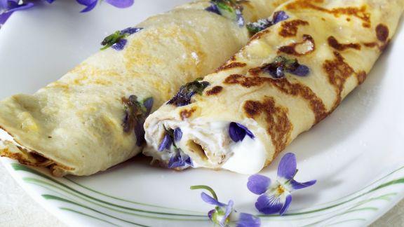 Rezept: Veilchen-Pfannkuchen