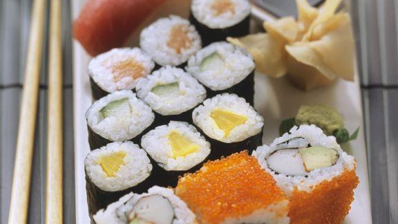 Rezept: Verschiedene Sushi-Röllchen