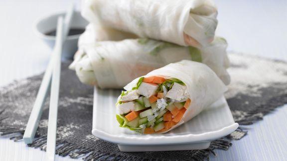 Rezept: Vietnamesische Glücksröllchen