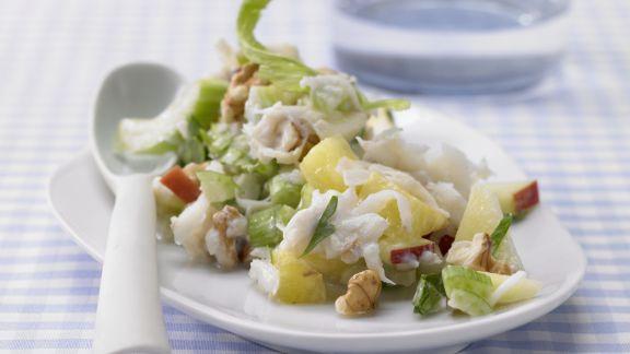 Rezept: Waldorfsalat mit Ananas