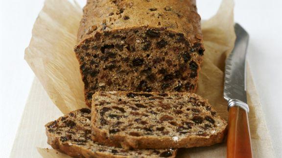 Rezept: Walisischer Teekuchen mit Rosinen