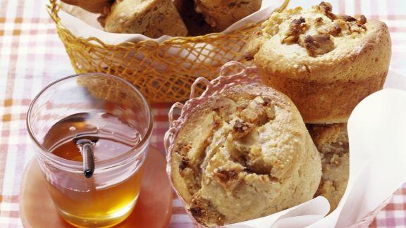 Rezept: Walnuss-Honig-Muffins