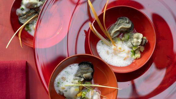 Rezept: Warme Austern