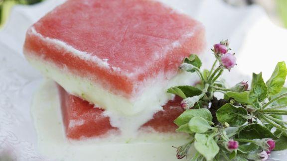 Rezept: Wassermelonen-Parfait