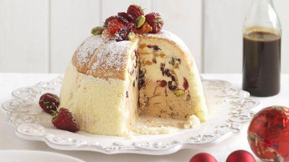 Rezept: Weihnachtliche Cassata