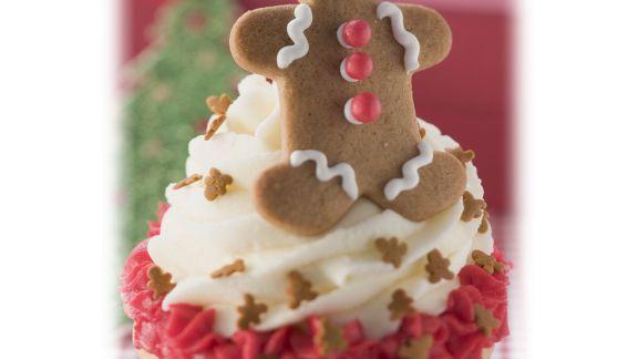Rezept: Weihnachtlicher Cupcake