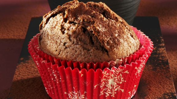 Rezept: Weihnachtlicher Lebkuchenmuffin