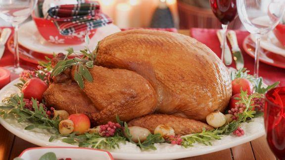Rezept: Weihnachtlicher Truthahnbraten