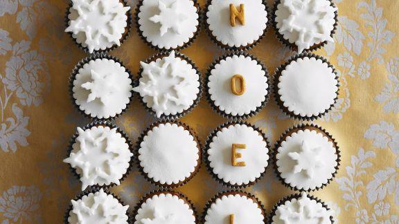Rezept: Weihnachts-Cupcakes
