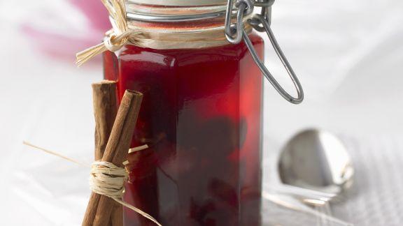 Rezept: Weinbrand-Kirschen