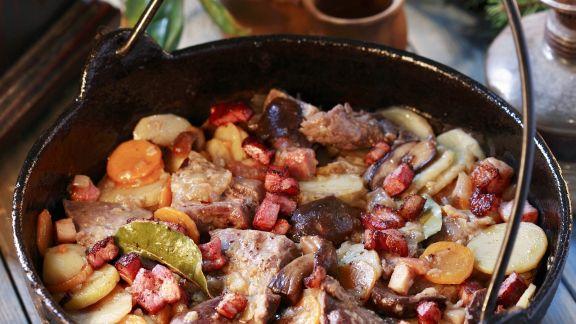 Rezept: Wellfleisch mit Gemüse