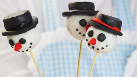 Rezept: Winterliche Cake Pops