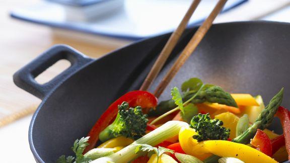 Rezept: Wok-Gemüse