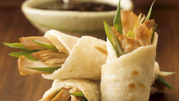 Rezept: Wraps mit pikanter Hähnchen-Füllung