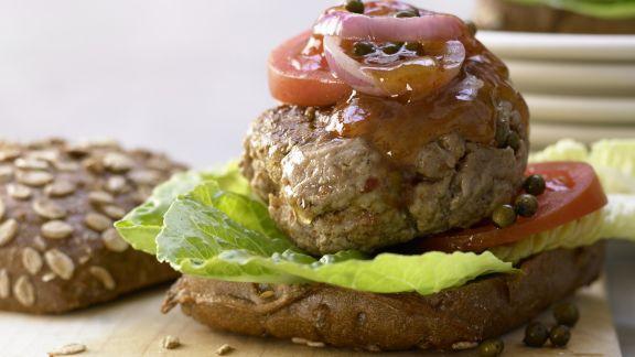 Rezept: Würzige Beefhack-Burger – smarter