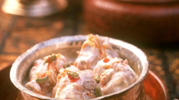 Rezept: Würziges Lamm-Sahne-Curry auf indische Art