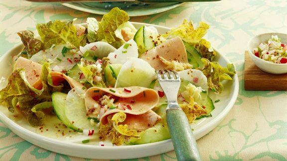 Rezept: Wurstsalat mit Rettich