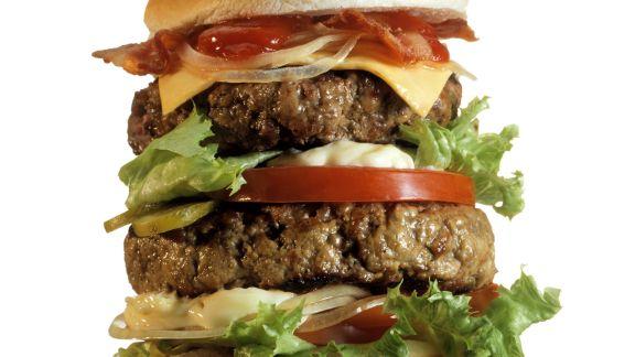 Rezept: XXL-Hamburger