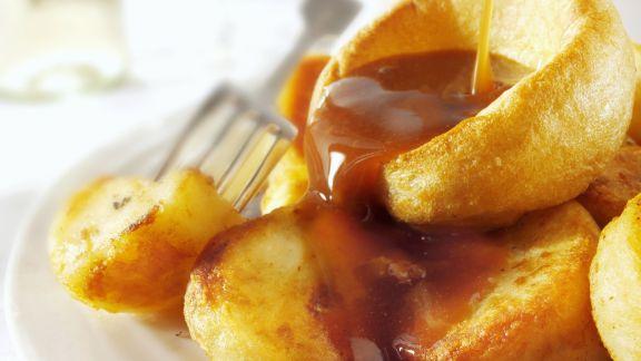 Rezept: Yorkshire Pudding mit Bratensoße