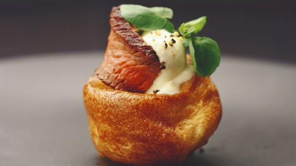 Rezept: Yorkshire-Pudding mit Roastbeef