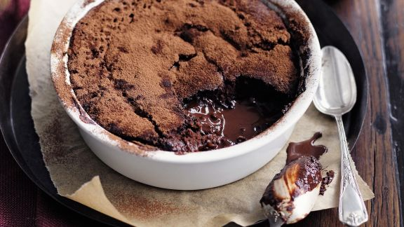 Rezept: Zart schmelzender Schokoladenpudding
