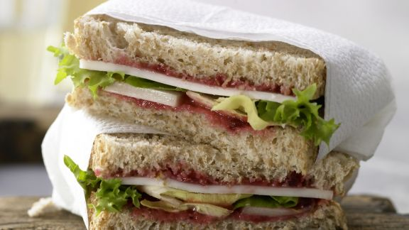 Rezept: Ziegenkäse-Sandwich
