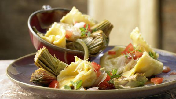 Rezept: Ziegenkäse-Tortellini
