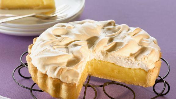 Rezept: Zitronen-Baiser-Kuchen