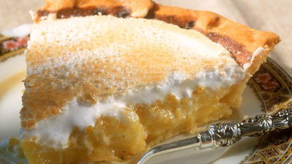 Rezept: Zitronen-Baiser-Tarte