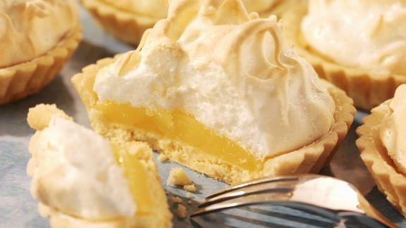 Rezept: Zitronen-Baiser-Tartelettes