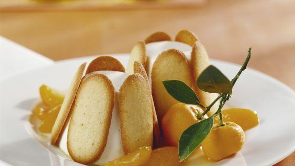 Rezept: Zitronen-Charlotte mit Joghurt