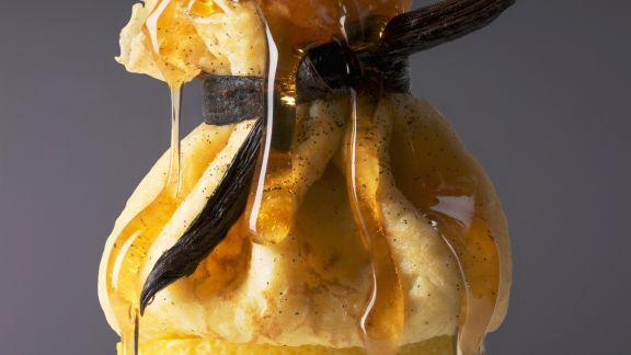 Rezept: Zitronen-Crêpe-Säckchen
