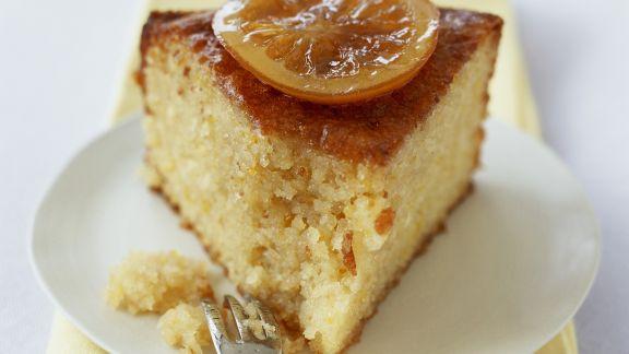 Rezept: Zitronen-Mandel-Kuchen