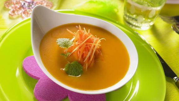 Rezept: Zitronen-Möhren-Suppe