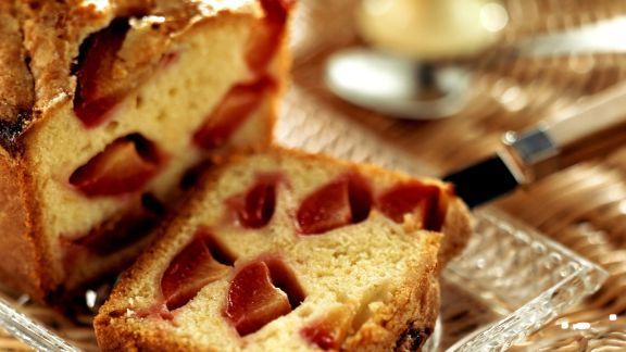 Rezept: Zitronen-Pflaumen-Kuchen