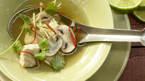 Rezept: Zitronengrassuppe