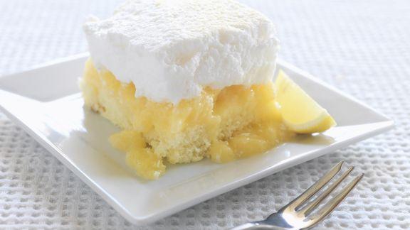 Rezept: Zitronenkuchen mit Baiser