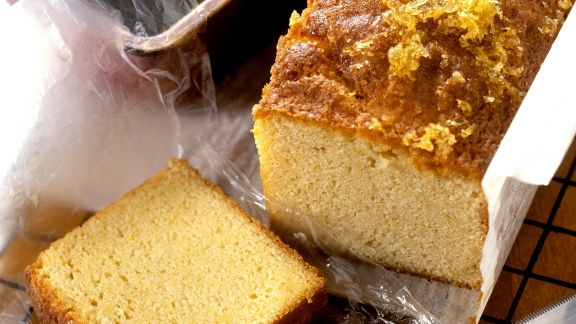 Rezept: Zitronenkuchen mit Ingwer