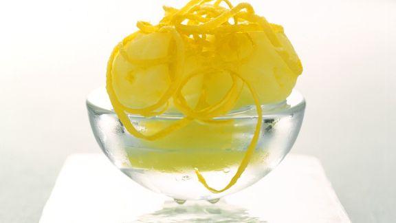 Rezept: Zitronensorbet