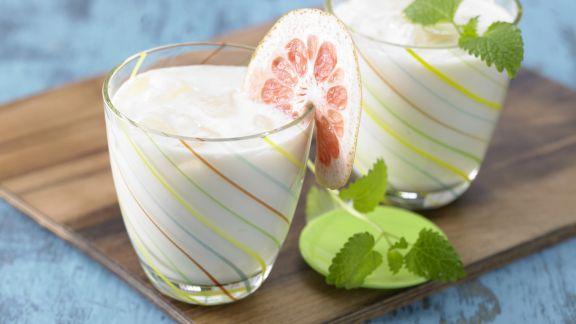 Rezept: Zitrus-Soja-Drink