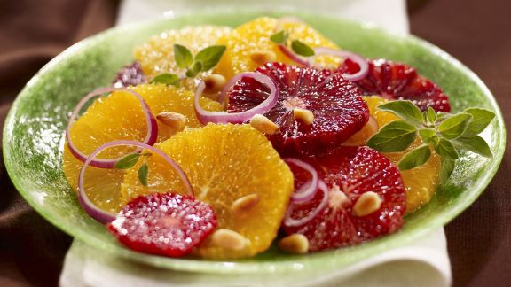 Rezept: Zitrus-Zwiebel-Salat