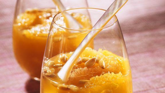Rezept: Zitrusfrucht-Bowle