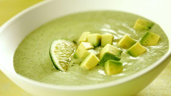 Rezept: Zucchini-Avocado-Kaltschale