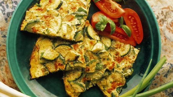 Rezept: Zucchini-Frittata