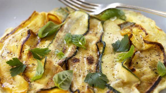 Rezept: Zucchini-Omelett