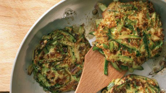 Rezept: Zucchini-Puffer