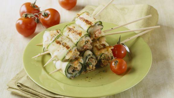 Rezept: Zucchini-Rouladen mit Caciocavallo