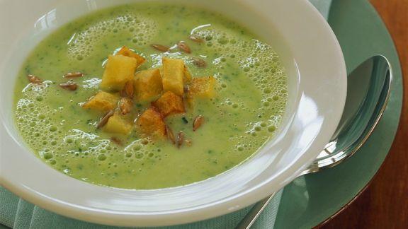 Rezept: Zucchinicremesuppe