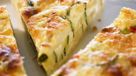 Rezept: Zucchinikuchen